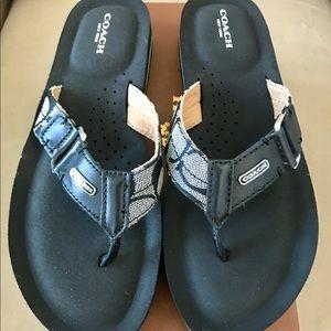 COACH Jada Flip Flop Sandals - Size 8